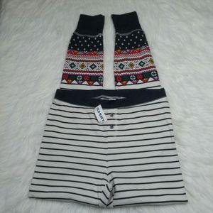Old Navy Waffle Knit Pajama Lounge Pants Small NEW